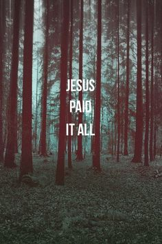 All to Him I owe  Sin had left a crimson stain  He washed it white as snow <3