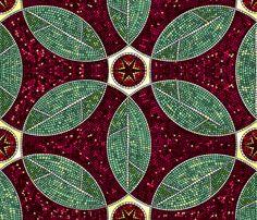 Turkish Bath Mosaic fabric by ravenous on Spoonflower - custom fabric