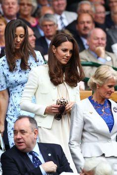 Kate and Pippa -Wimbledon 12'
