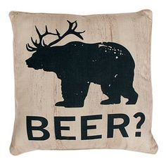 Picture of Beer Animal Pillow 20-in