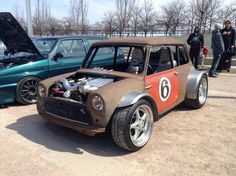 WTF Friday: The Tachyon Mini Cooper | Stance Is Everything
