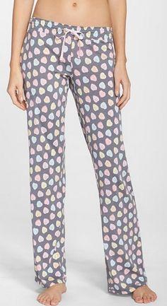 Conversation heart PJ pants #vday #xoxo