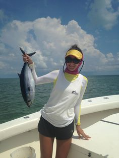 Fishing Report for Sept. 7 (Islamorada, FL): Today we had some great #Tuna action! We headed out for a full day and stopped for some live bait first. The bait fishing was great! We caught several hundred Pilchards which made our day exciting. We were able to chum the Tunas to the surface by throwing lots of live Pilchards over. Then it was as fast as you could get a hook bait! Lots of fun! Wind was southeast at around 8 knots. Seas a foot #fearless #fishing #captjoehendrix #islamorada…