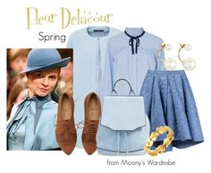 """Fleur Delacour: Spring"" by evalupin ❤ liked on Polyvore featuring Sea, New York, Martha Medeiros, rag & bone, Kate Spade, Chaumet, Spring, harrypotter, beauxbatons and fleurdelacour"