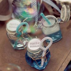 Homemade bubbles in cute jar and pipe cleaner wand. Wedding Favours, Diy Wedding, Dream Wedding, Wedding Day, Wedding Bouquet, Homemade Bubbles, Wedding Bubbles, Baby Food Jars, Wedding Entertainment