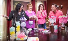 "DIY Rock Candy Chandeliers with ""The Candy Queen"" Jackie Sorkin Chandelier"