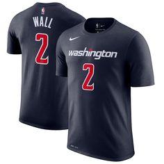 e169929fa Men s Washington Wizards John Wall Nike Navy Name   Number Statement  Performance ...