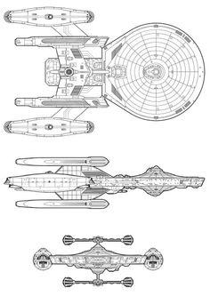 Federation Starship Long Range Exploration Vessel