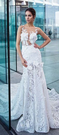 Leah Da Gloria Made To Order Wedding Gowns | Pinterest | Mermaid ...