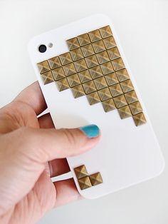 Studded Case - http://www.ivillage.com/stylish-ways-decorate-your-cell-phone-case/7-a-551399