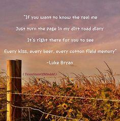 Dirt road diary