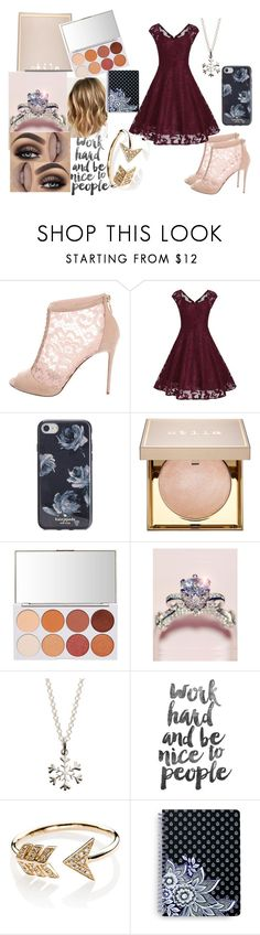 """Party Dress"" by bethecaptain on Polyvore featuring Dolce&Gabbana, Kate Spade, Stila, Lily Charmed, EF Collection and Vera Bradley"