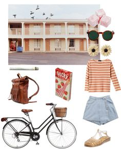 """""""Motel"""" by juliette-gaudreault ❤ liked on Polyvore"""