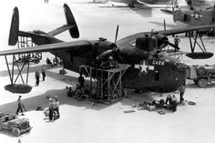 USN - Martin PBM Mariner - Was a Twin Engine Long Range Flying Boat Patrol Bomber (2))