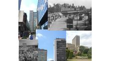 MOOD BOARD of pictures i took on the first day of project and a mixture of google images of Croydon in the olden days. Focus on architecture and scenery. This informed my content for my video