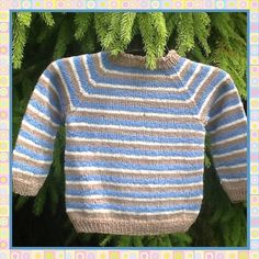 Bilderesultat for enkel strikkegenser barn
