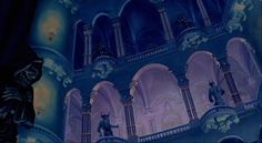 Animation Backgrounds: yet more BEAUTY AND THE BEAST