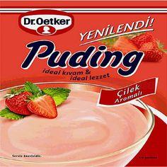 Dr.Oetker Cilekli Puding / Puding W/Strawberry - 125 gr
