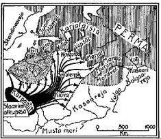 History of Finland and the Finnish People from ice age to WWII.