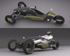 Eco Three Wheelers: W3 Concept Based on Ducati Motorcycle