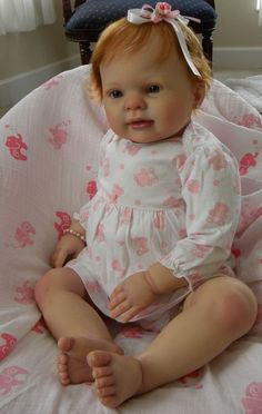 "Reborn baby toddler **Keelin** by Donna Rubert "" little boo boo"" NR"