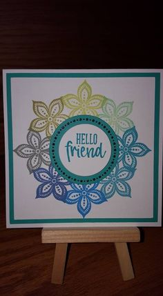 Card Making Inspiration, Making Ideas, Wondrous Wreath, Shaped Cards, Friendship Cards, Pretty Cards, Card Sketches, Flower Cards, Homemade Cards