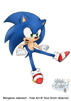 Sonic The Hedgehog by YukiArtOfficiel on DeviantArt