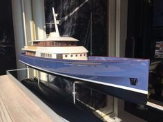 Fraser Yachts and Royal Huisman present Project Marlin Pt Boat, Steam Boats, Classic Yachts, Boat Projects, Classic Motors, Tug Boats, Yacht Design, Black Sea, Titanic