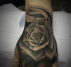 31 Best Rose Hand Tattoos Images Rose Hand Tattoo Nice Tattoos Roses