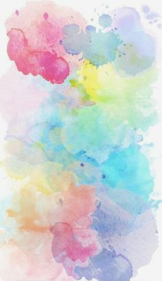 samsung wallpaper watercolor 40 Very Easy Watercolor Painting Ideas For Beginners - FeminaTalk Rainbow Wallpaper, Iphone Background Wallpaper, Trendy Wallpaper, Pretty Wallpapers, Aesthetic Iphone Wallpaper, Colorful Wallpaper, Aesthetic Wallpapers, Phone Backgrounds, Watercolor Wallpaper Iphone