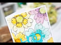 Papertrey Ink Make It Monday | Doodling with Stamps Video Tutorial » Paper Suite