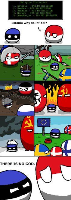Can Eesti into nordic? - 9GAG