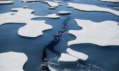 Earth's sea ice has shrunk dramatically in recent years. Trump denials now followed by his obstruction tactics - no doubt so he can generate his own FAKE NEWS!