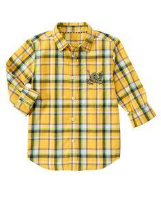 Revvit Plaid Shirt at Gymboree