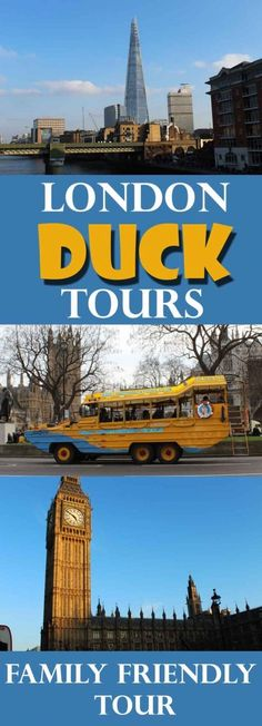 Review: We had a fabulous and wonderfully quirky tour of London on board the London Duck Tours. From Waterloo to the Houses of Parliament from the Thames.  I love open top tourist buses but this is even better - memorable and different!  A cruise boat as well as a bus.