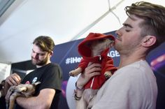 Andrew Taggart Photos Photos - DJ's Alex Pall and Andrew Taggart of The Chainsmokers attend the 2016 Daytime Village At The iHeartRadio Music Festival at the Las Vegas Village on September 24, 2016 in Las Vegas, Nevada. - 2016 Daytime Village at the iHeartRadio Music Festival on September 24, 2016