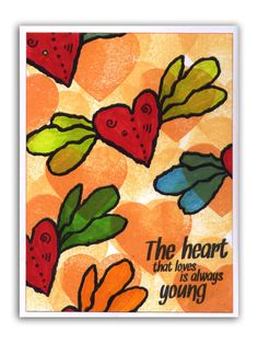 Flying hearts by Hélène Métivier MagentaStyle.the heart that loves is always young!