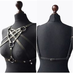 Naturel Leather Harness Women Body Harnes Leather Harness Belt Leather Accessories Harness Fashion Harness Belt Costume Body Chain