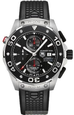 NEW TAG HEUER AQUARACER CALIBRE 16 500M AUTOMATIC LIMITED EDITION TEAM USA 34th AMERICA'S CUP MENS WATCH CAJ2112.FT6036