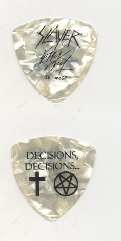 Gary Moore Gold printed signature guitar pick plectrum keychain keyring