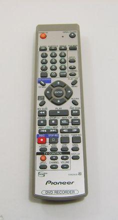 Genuine OEM Pioneer VXX2928 Remote Control DVD Recorder