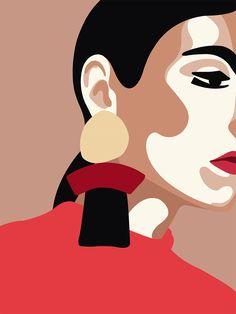 일러스트레이션 Bob Hairstyles bob hairstyles for black hair Graphic Design Illustration, Graphic Art, Illustration Art, Art Sketches, Art Drawings, Pop Art, Art Watercolor, Guache, Portrait Art