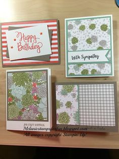 Hello stampers!  When the Occasions Catalog first became available for demonstrators in December, I made a list of the products that really caught my eye. That became my pre-order #1. A few weeks later, I placed a second order that was delivered late last week. As I went through the products in the second order, I fell in love! The designer series paper (which I mostly passed on with my first order) is absolutely gorgeous!