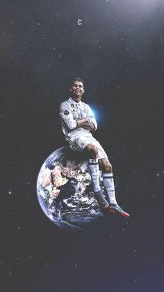 Cristiano Ronaldo, King Of The World. He's on top of the world. Cristiano Ronaldo 7, Cristiano Ronaldo Wallpapers, Messi And Ronaldo, Ronaldo Real Madrid, Real Madrid Football, Football 2018, Ronaldo Football, Barca Real, Cr7 Wallpapers