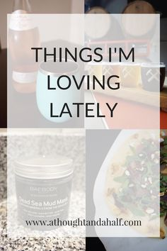 My favorite summer wine, wine tumbler, mud mask and more links to things I'm loving lately