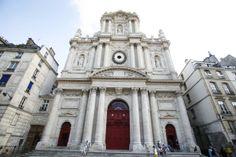 Eglise Saint-Paul - Saint-Louis Saint Louis, San Francisco Ferry, Notre Dame, Building, Travel, Modern Church, Viajes, Buildings, Destinations