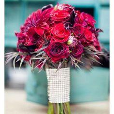 ruban-strass-bouquet-mariee