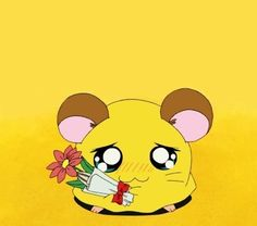 Shared by 𝙎. Find images and videos about cute, anime and kawaii on We Heart It - the app to get lost in what you love. Hamtaro, Yellow Theme, 90s Cartoons, Aesthetic Anime, Sanrio, My Childhood, Bujo, Find Image, We Heart It