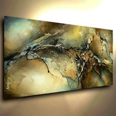 Abstract Art Modern CONTEMPORARY Giclee Canvas Print of a Michael Lang Painting #ArtDeco
