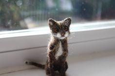 https://flic.kr/p/A5yrQJ | needle felted cat